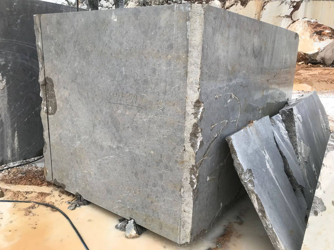 Turkish Sicilia Grey Natural Marble Blocks
