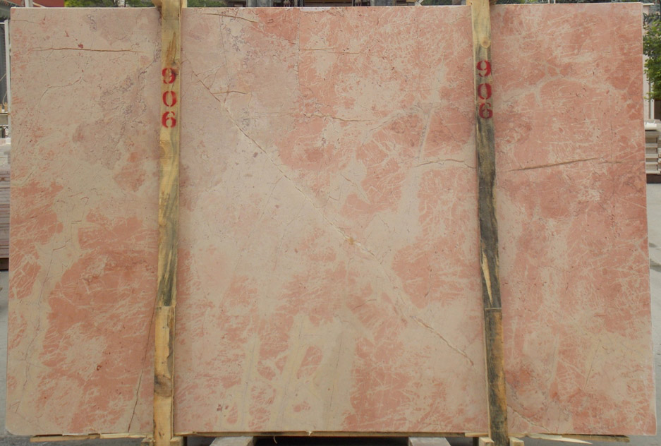 Turkish Sunset Pink Marble Slabs for Export
