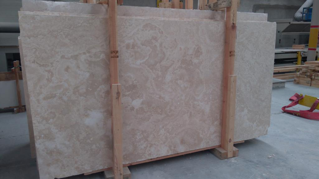 Turkish Travertine Slabs Light Travertine Cross Cut