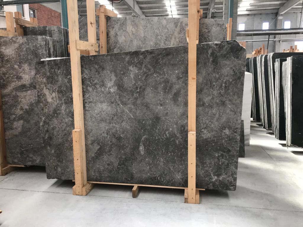Turkish Tundra Blue Marble Slabs Polished Marble Slabs for Decoration