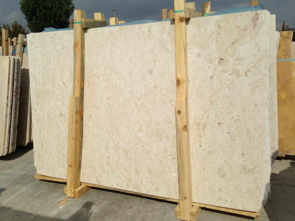 Turkish Venus Crema Nova Slab Beige Marble Slabs