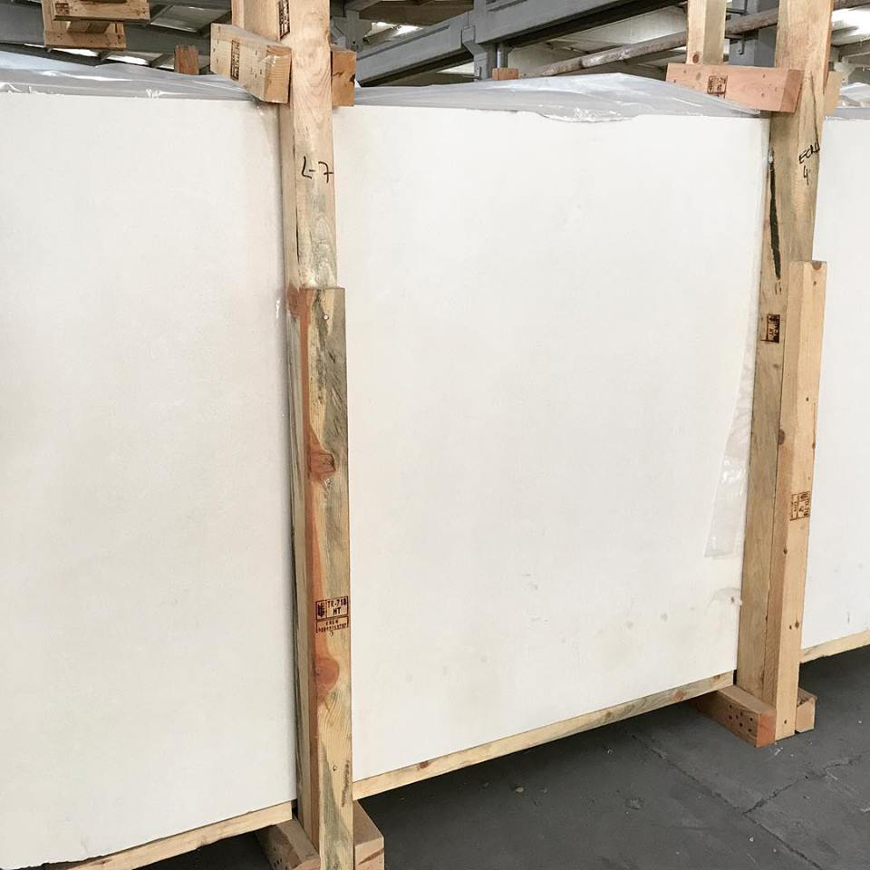Turkish White Limestone Slabs with High Quality