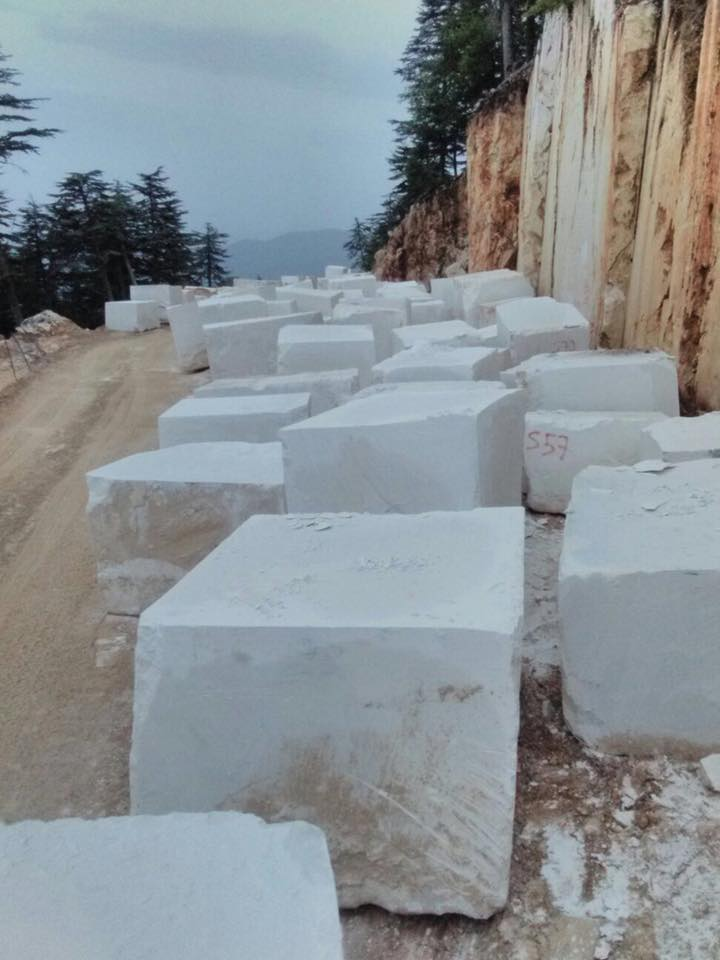 Turkish White Limestone Stone Blocks