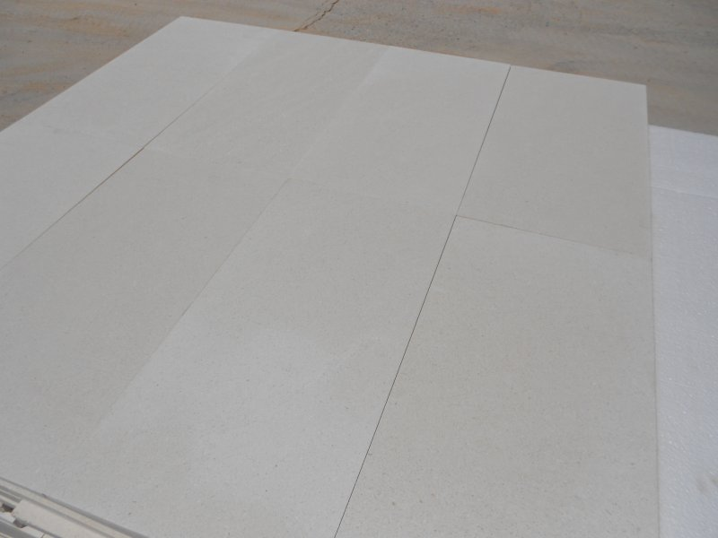 Turkish White Limestone Tiles for Flooring