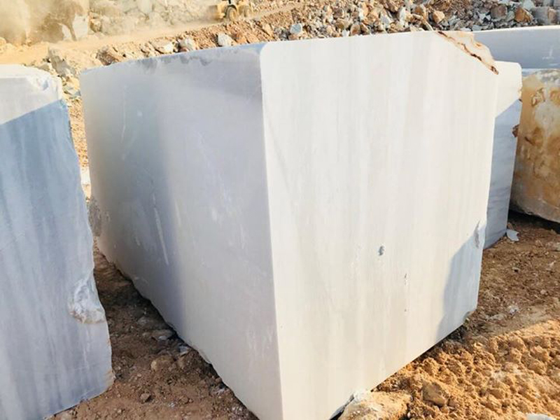 Turkish White Marble Blocks Marmara Classic Blocks
