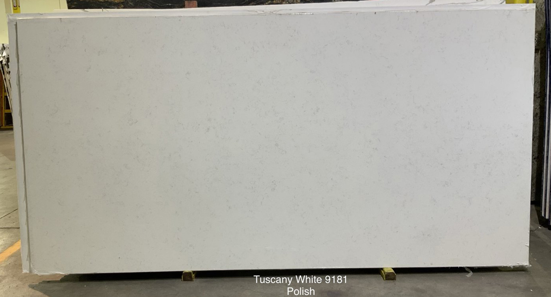 Tuscany White Quartz Slabs Chinese Competitive Stone Slabs