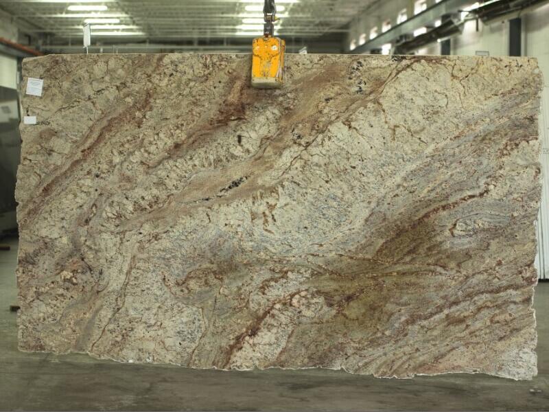 Typhoon Bordeaux 2cm Granite Slabs Brazil Polished Granite Slabs