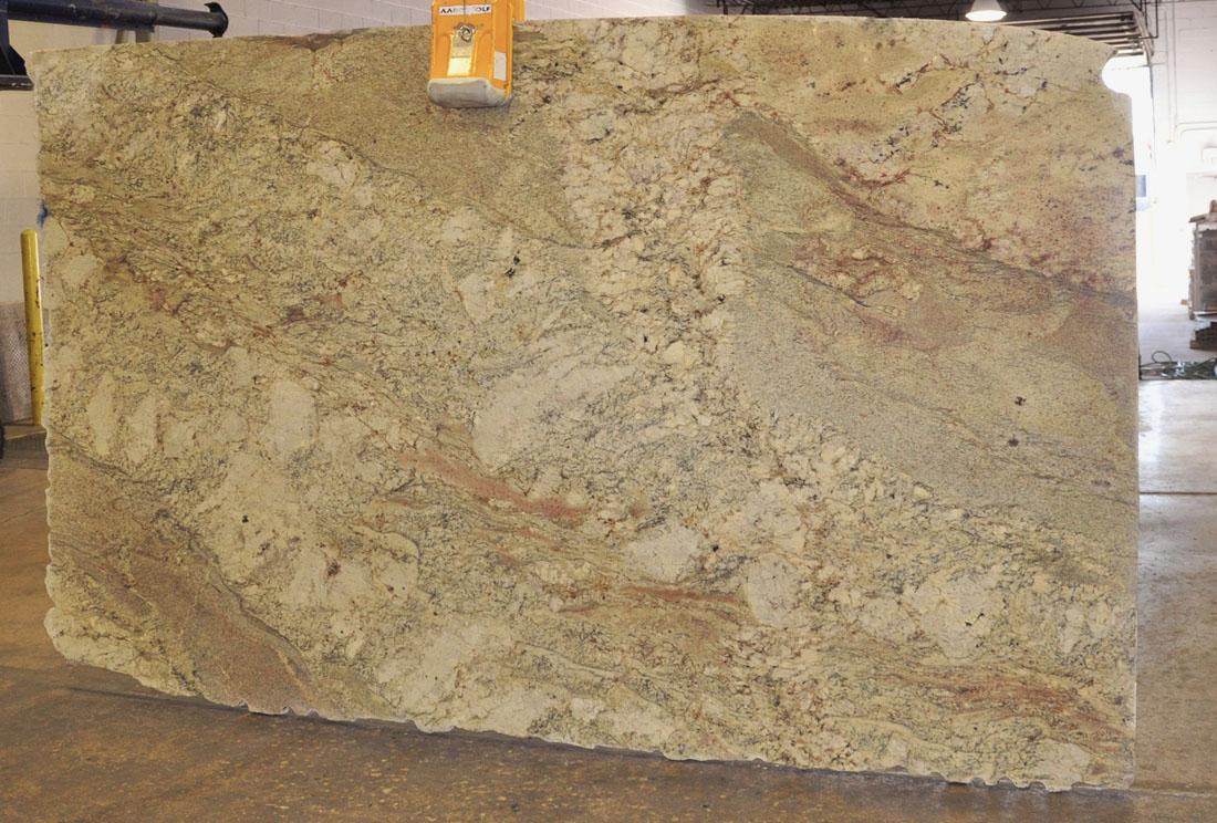 Typhoon Bordeax 3cm Polished Brazil Beige Granite Stone Slabs