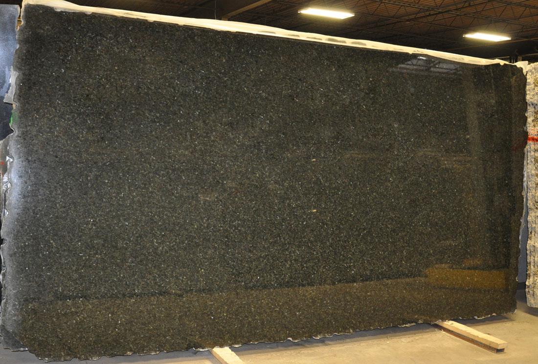Uba Tuba 3cm Granite Slabs Polished Green Granite Stone Slabs