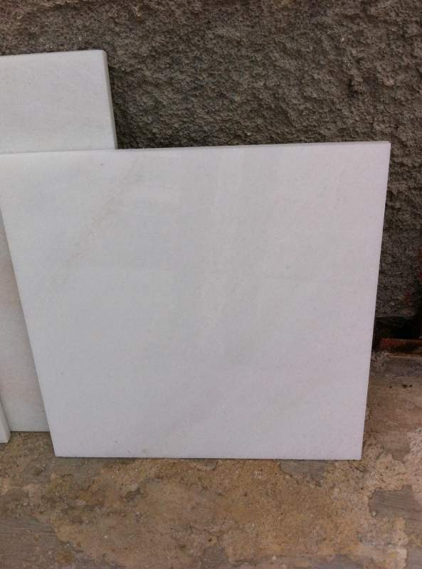 Usak White Marble Tiles Turkish Flooring Marble Tiles