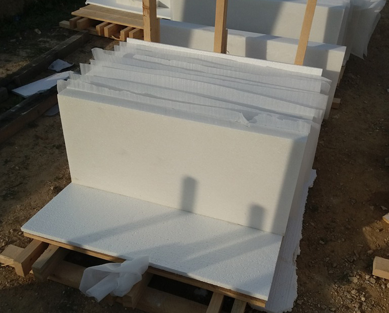 Usak White Marble Tiles Turkish White Marble Stone Tiles