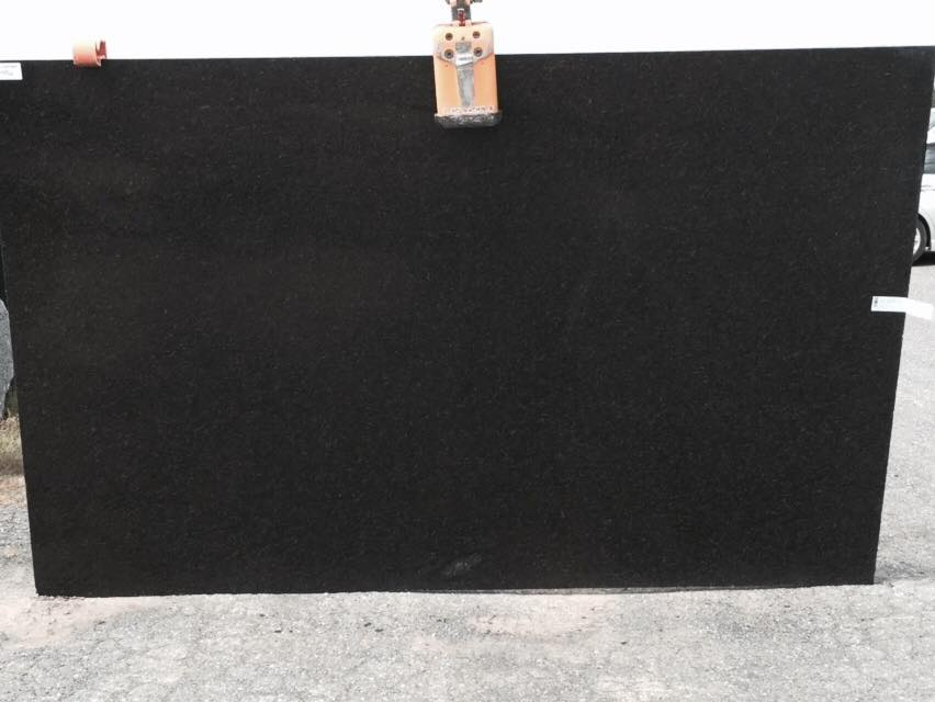Ubatuba Black Granite Slab