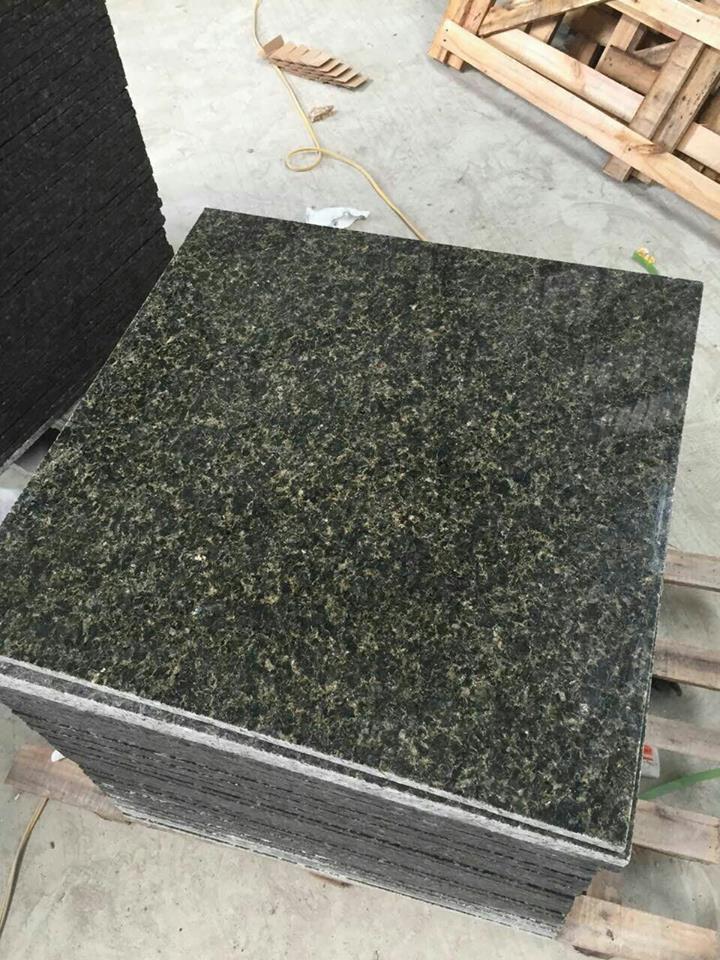 Ubatuba Granite Green Granite Polished Tiles
