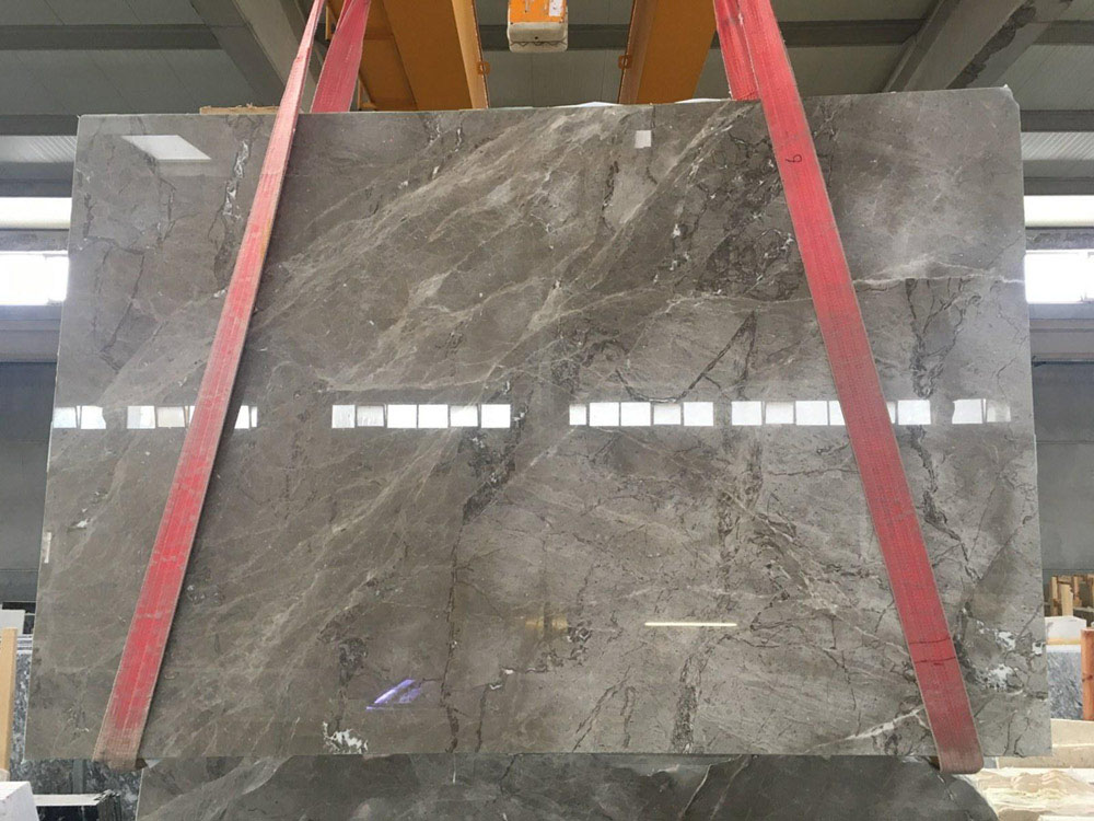 Valentino Grey Marble Slabs Hot Selling Marble for Countertps
