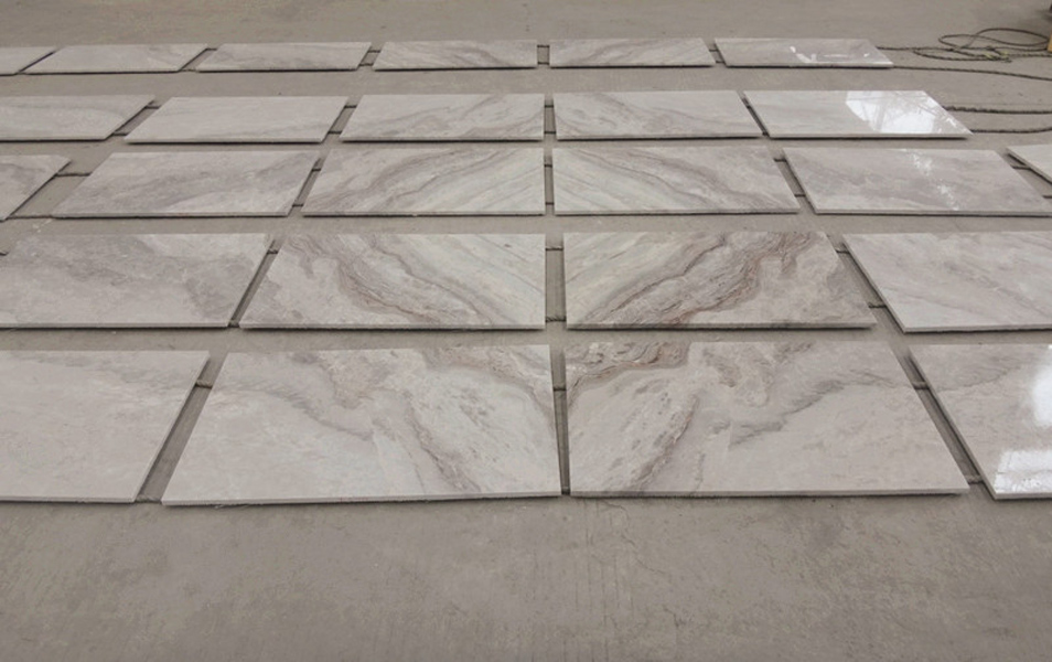 Van Gogh Marble Tiles Chinese White Polished Marble Stone Slabs