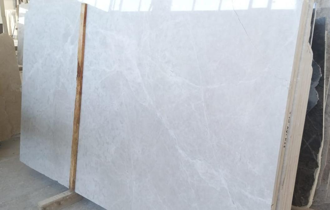 Vanilla Ice Marble Slabs Turkish Polished White Marble Slabs