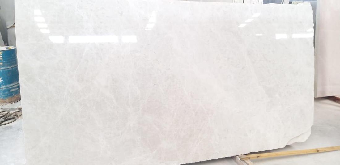 Vanilla Ice Marble Slabs Turkish Polished White Slabs