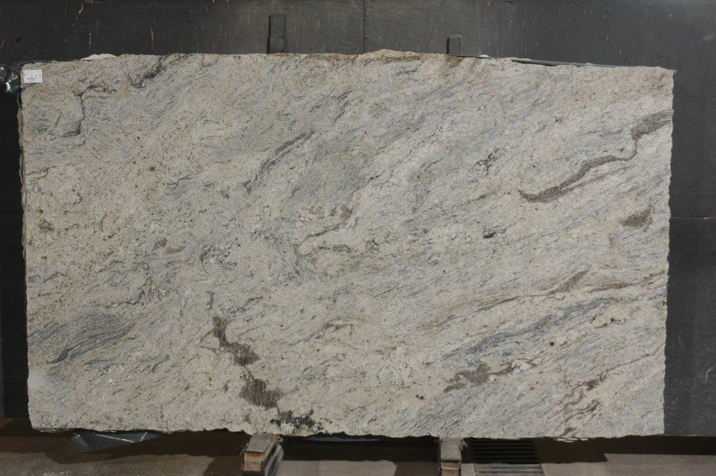 Vanilla River White Granite Slabs