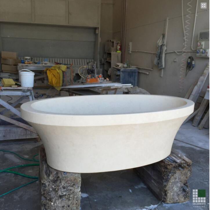 Vasca in Limestone Bathtub