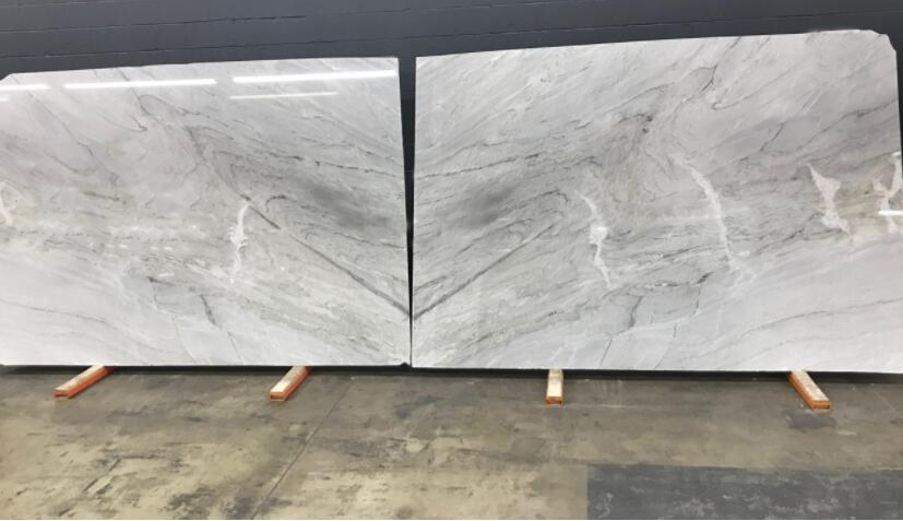 Vega Quartzite Stone Slabs Polished White Brazil Quartzite Slabs
