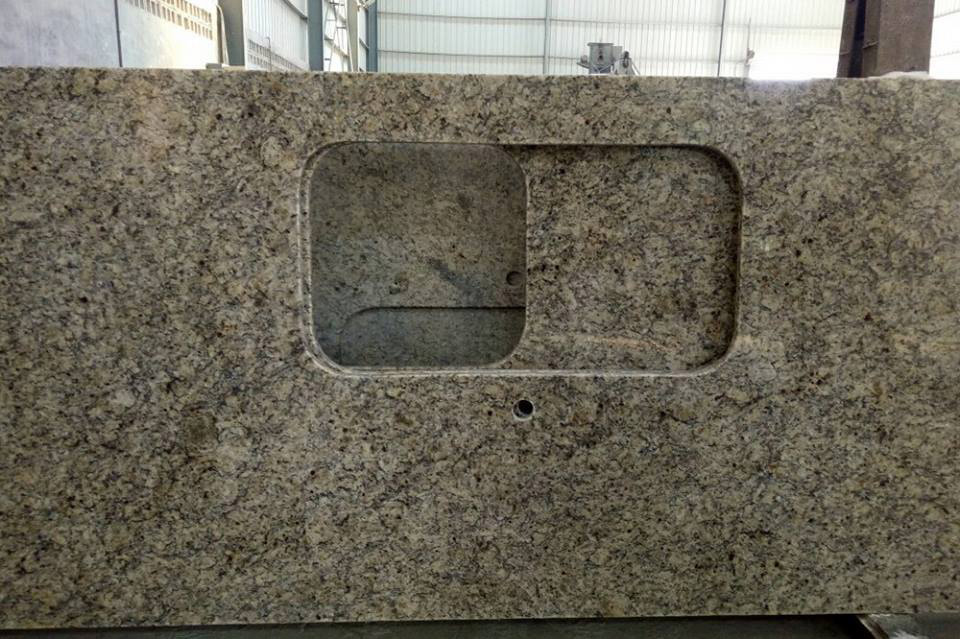 Venetian Gold Granite Countertops Polished Granite Kitchen Tops