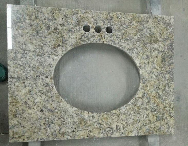 Venetian Gold Granite Polished Bathroom Vanity Tops