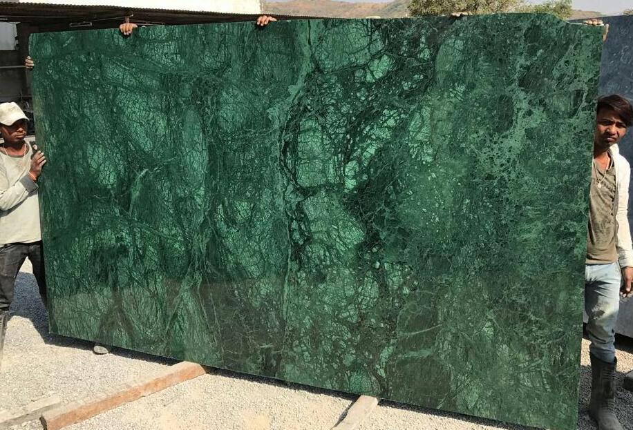 Verde Green Marble Slabs Indian Polished Green Marble Slabs