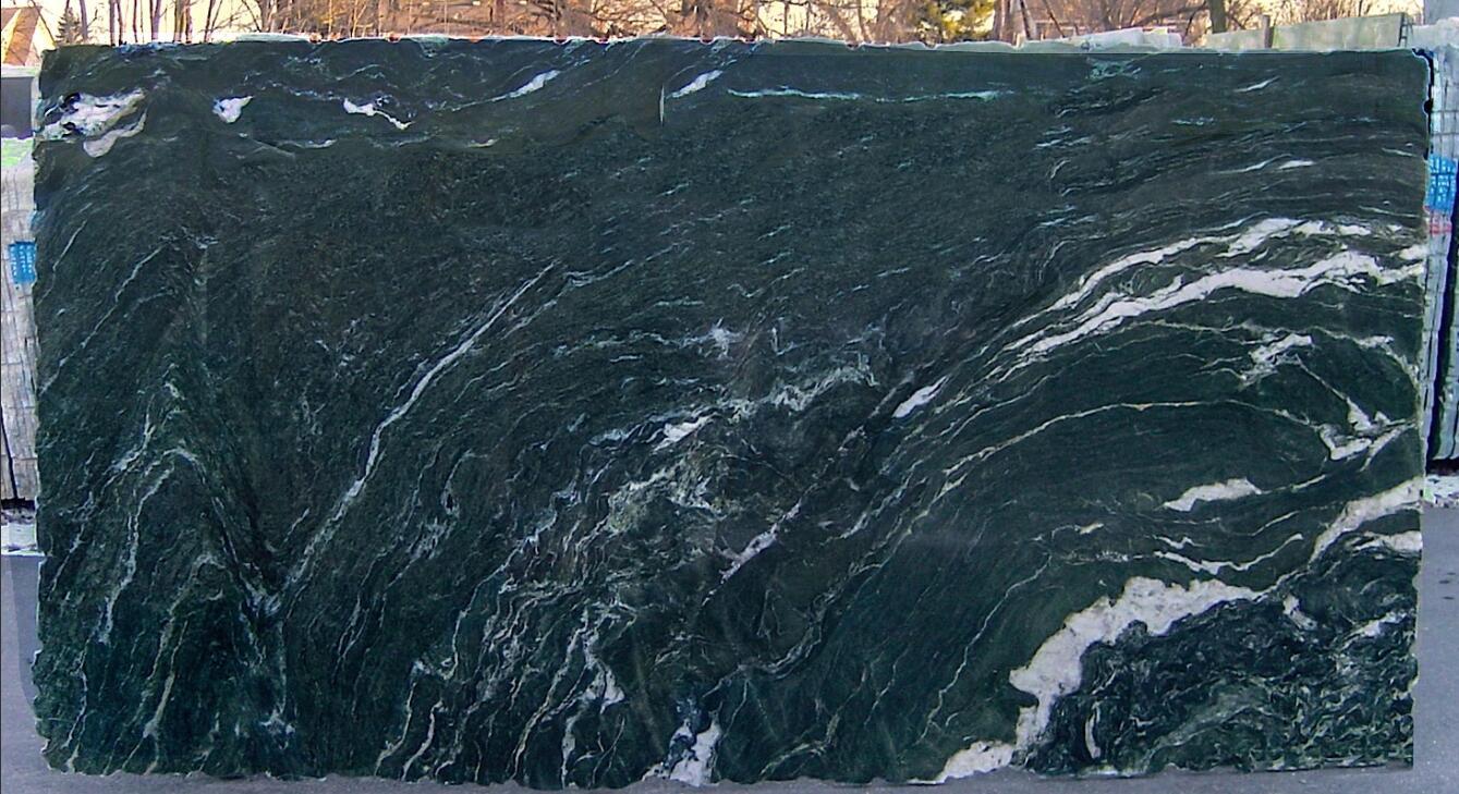 Verde Italia Granite Slabs Polished Green Granite Stone Slabs