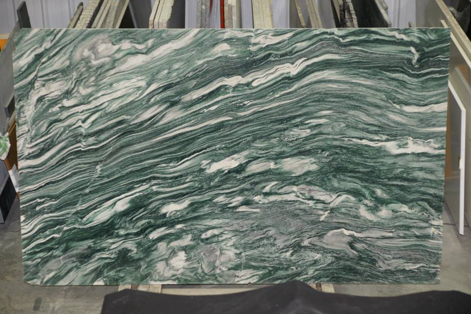 Verde Lapponia Quartzite Slabs Polished Green Quartzite Slabs