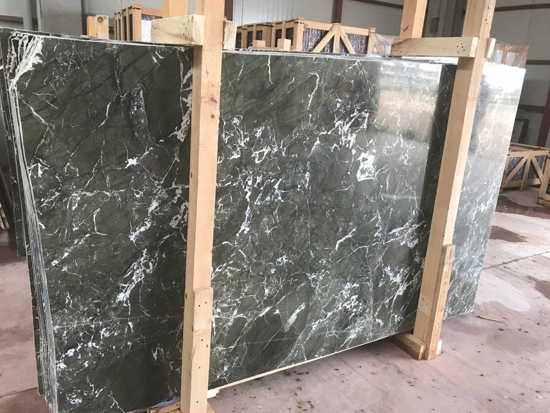 Verde Levanto Marble Slabs Turkish Green Marble Slabs