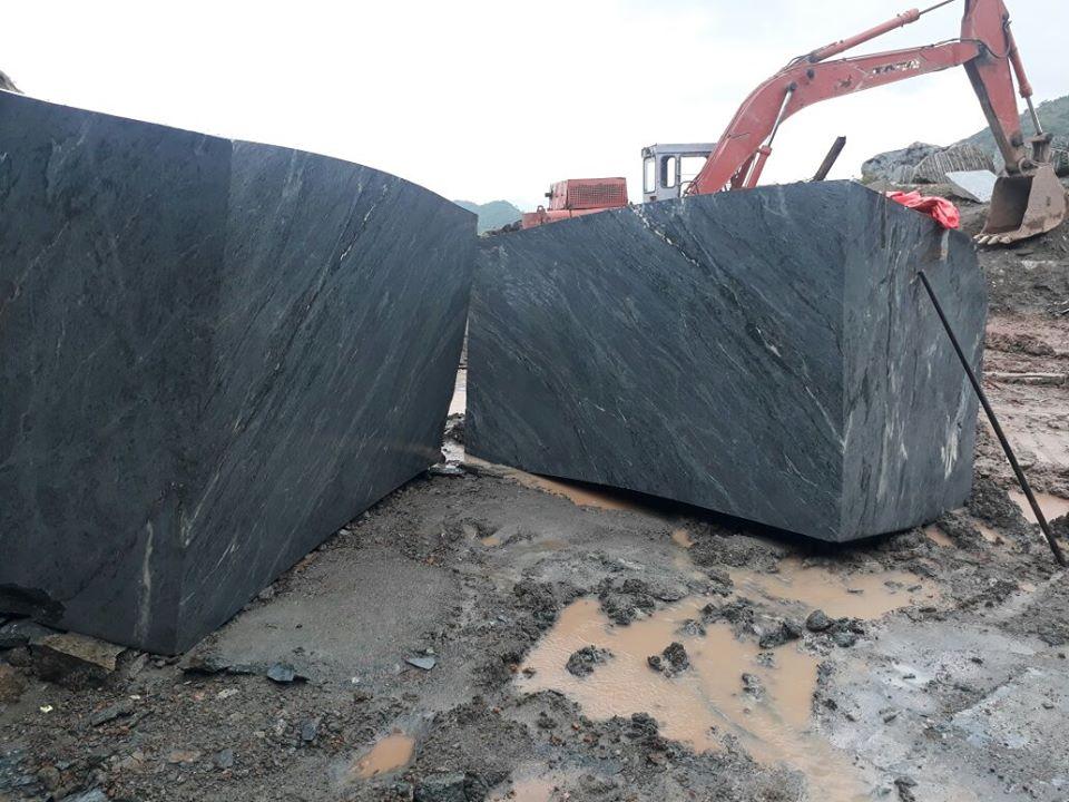 Verde Montana Marble Natural Stone Blocks