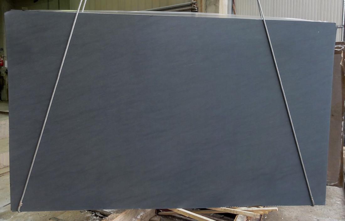 Vermont Black Granite Slab for Kitchen Countertops