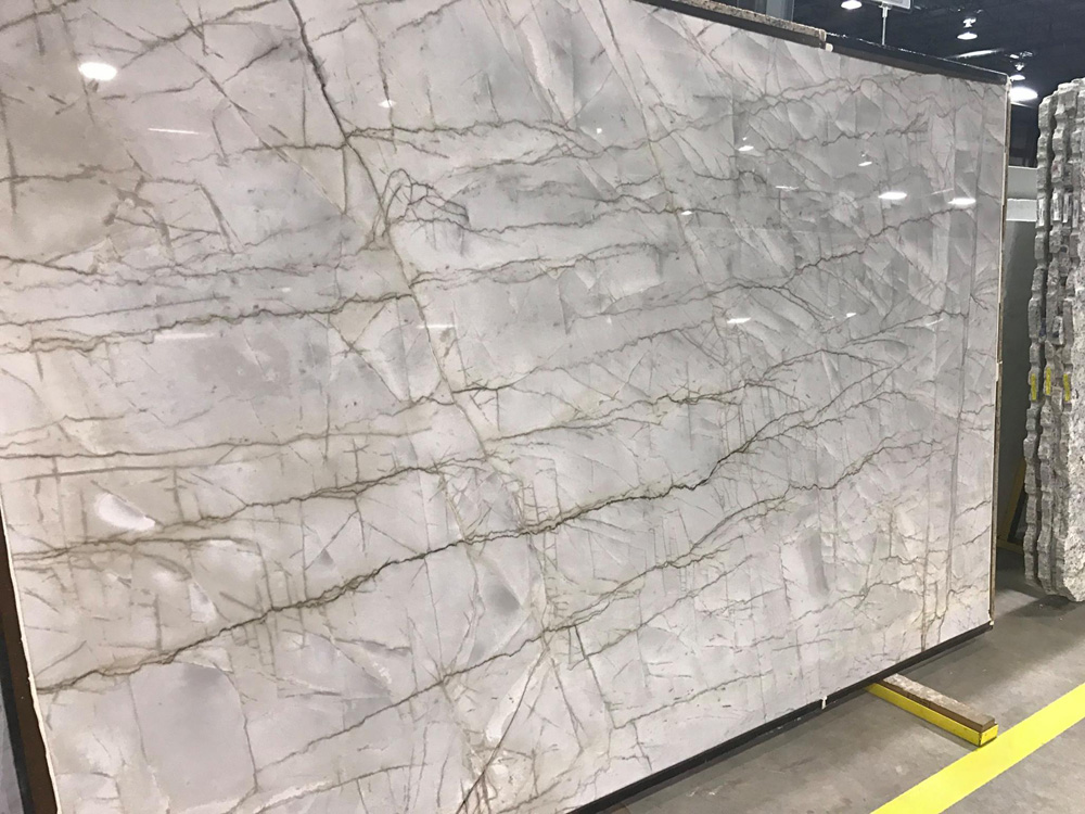 Veyron Quartzite Slab Nice Materials for Kitchen Countertops