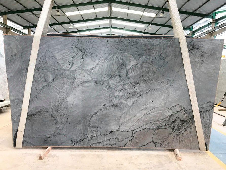 Vibranium Quartzite Slabs Grey Quartzite Slabs from Brazil