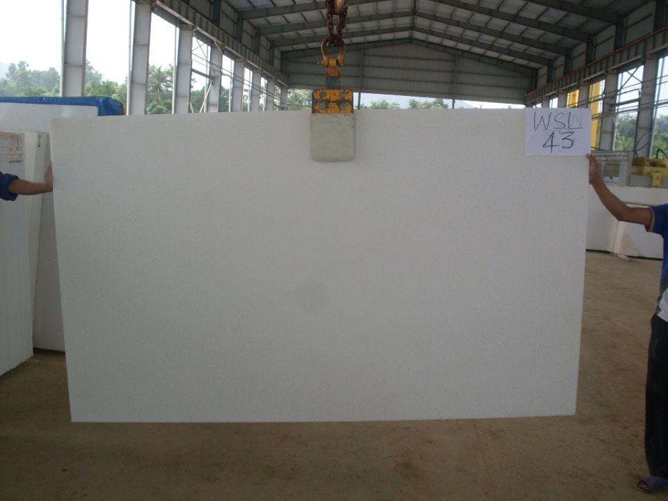 Vietnam Crystal White Marble Slabs