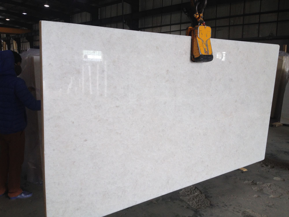 Vietnam DIAMOND WHITE Marble Slabs