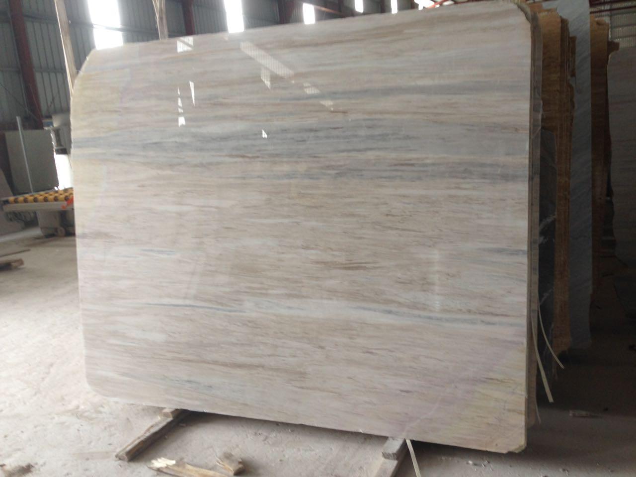 Vietnam WOODEN VEIN Marble Slabs