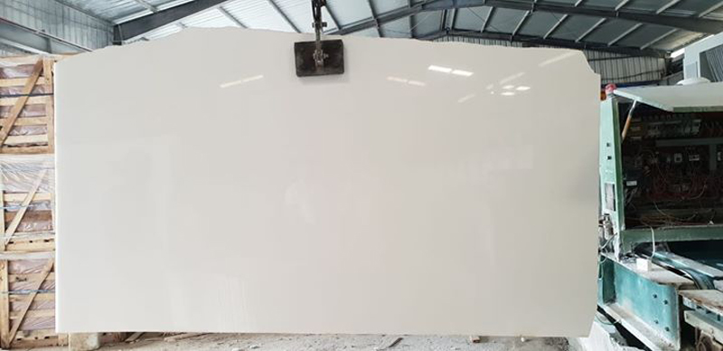 Vietnam White Marble Slabs Polished Crytal White Slabs