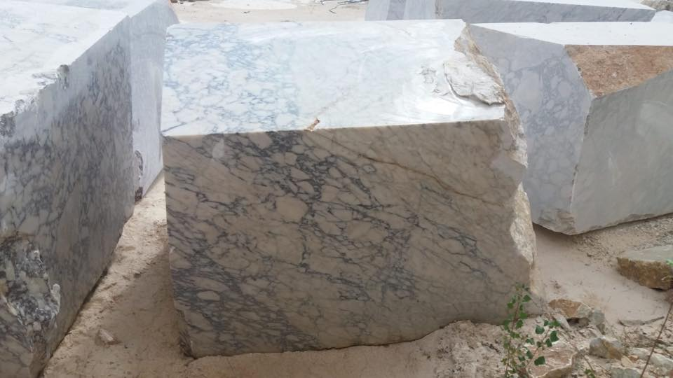 Violeta Marble Blocks White Natural Marble Blocks