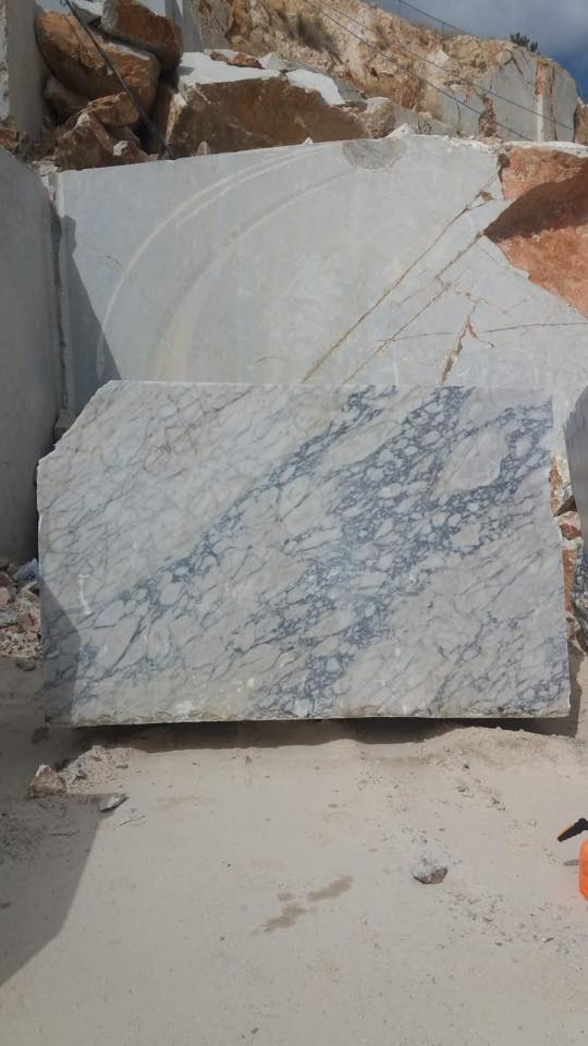 Violeta White Marble Turkish White Marble Blocks Natural Stone Blocks