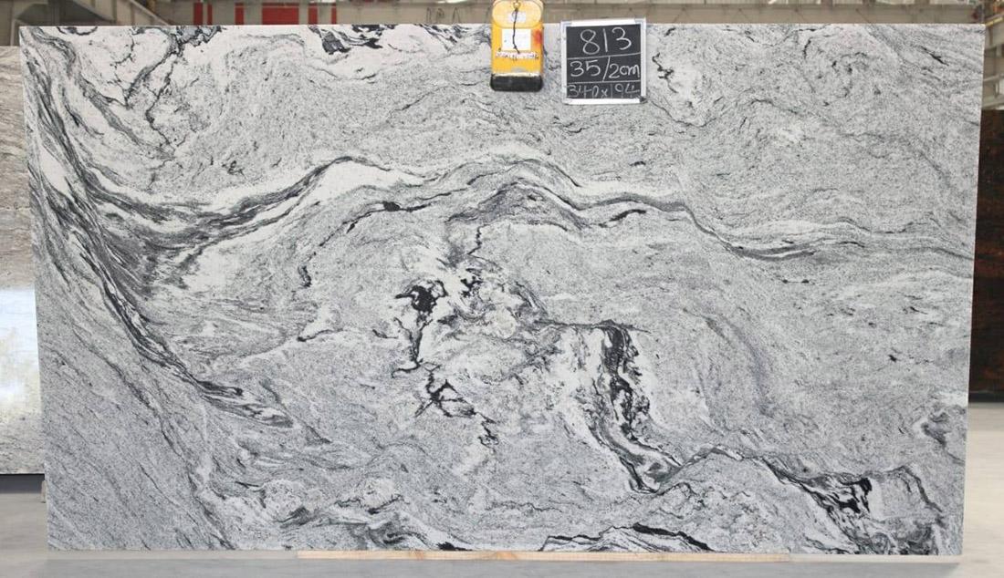 Viscon White Granite Slabs for Kitchen Countertops