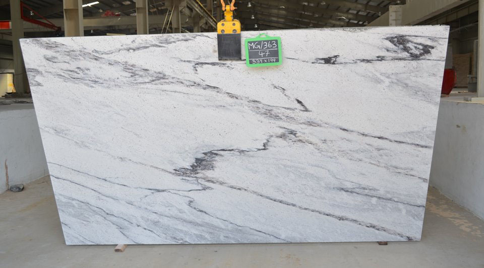 Viscon White Polished 3 CM Slabs
