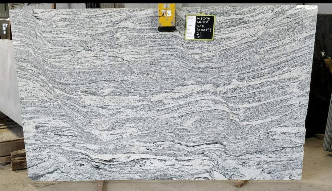 Viscont White Granite Indian White Granite Stone Slabs