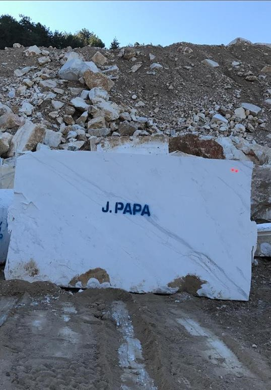 Volakas Block Greek Natural Marble Blocks for Export