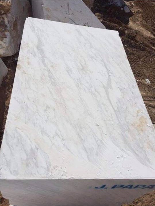 Volakas Block Greek Natural Marble Stone Blocks