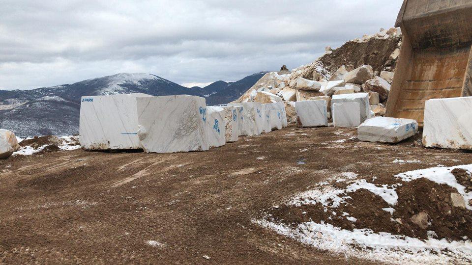 Volakas Block Greek White Natural Marble Blocks