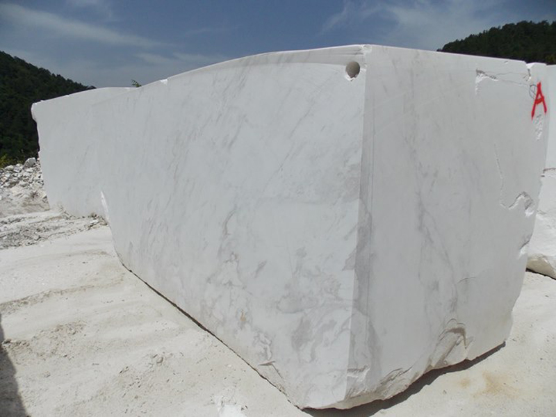 Volakas Brilliant White Marble Blocks