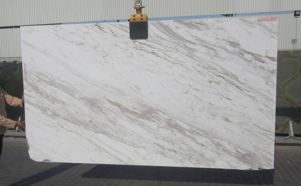 Volakas Classic Slabs White Marble Slabs from Greece