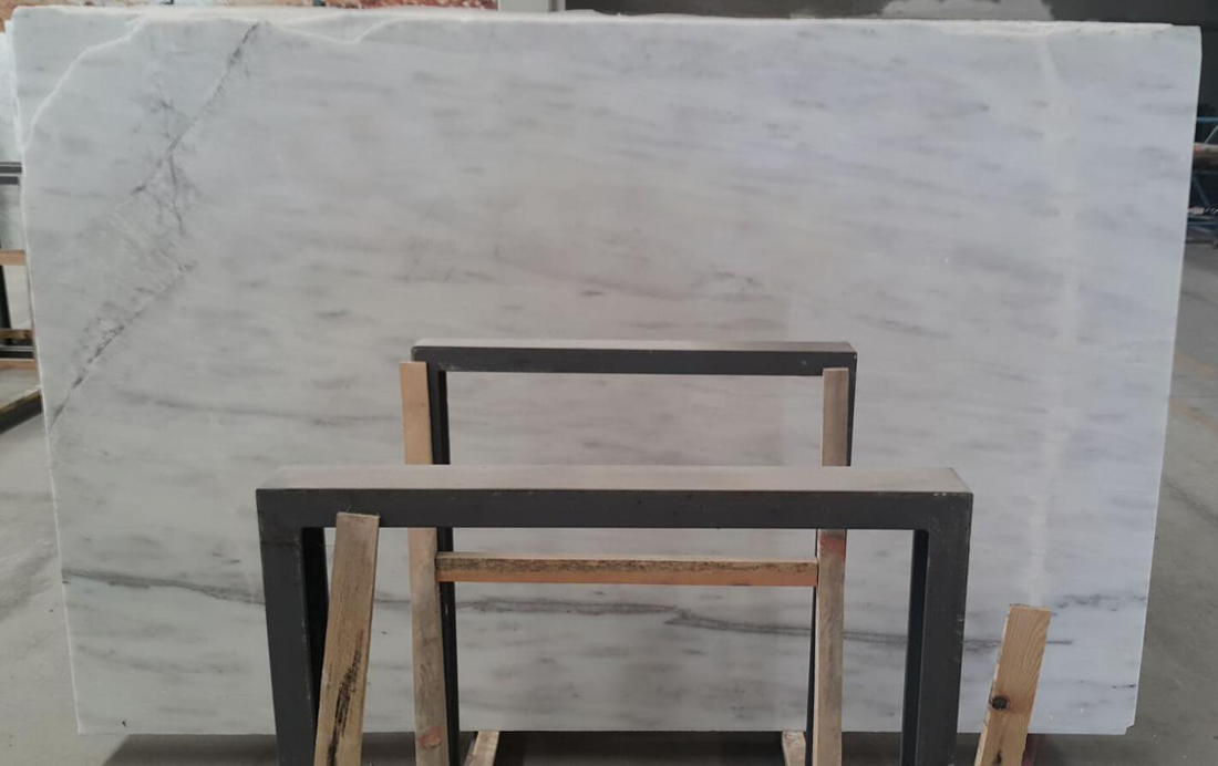 Volakas White Marble Polished Slabs Premium White Stone Slabs