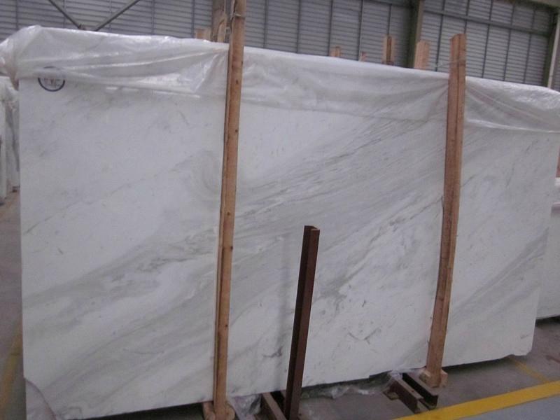 Volakas White Marble Polished White Marble Slabs